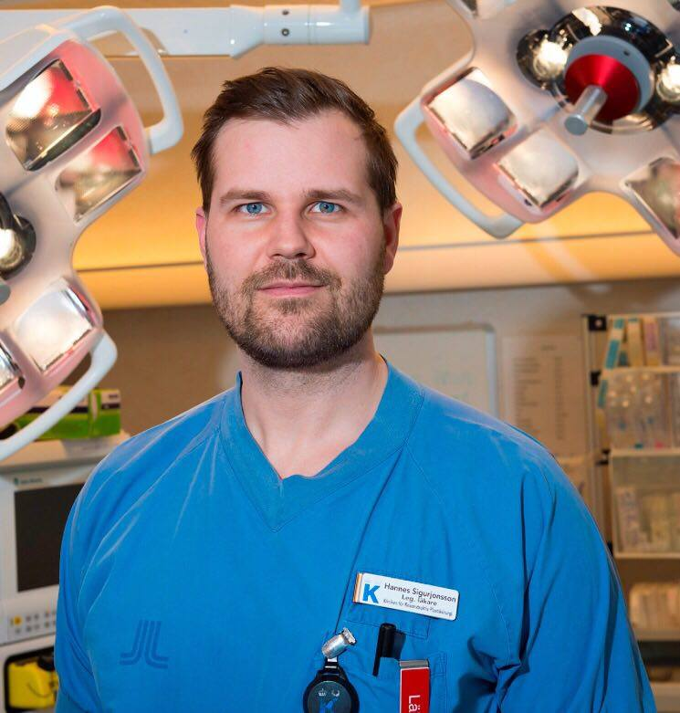 Dr. Hannes Sigurjonsson, SRS Surgeon