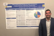 Hahnemann University Hospital Urology Resident Dr. Jason Levy presenting at WPATH 2018 on Outcomes of 240 patients of Dr. Kathy Rumer undergoing Vaginoplasty from November 2016 to April 2018.